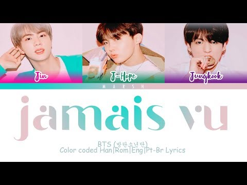 BTS (방탄소년단) – Jamais Vu (Color Coded Lyrics/Han/Rom/Eng/Pt-Br)