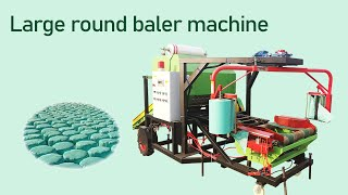 silage baler machine youtube video