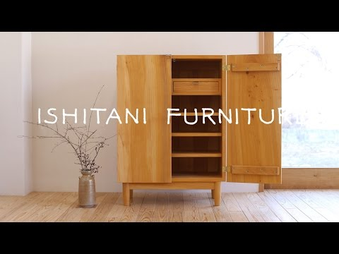 ISHITANI - Making a Ginkgo tree Cupboard - made from an old table top - [16:10]