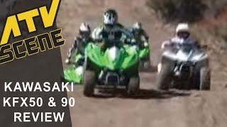 9. Kawasaki KFX 50 & 90