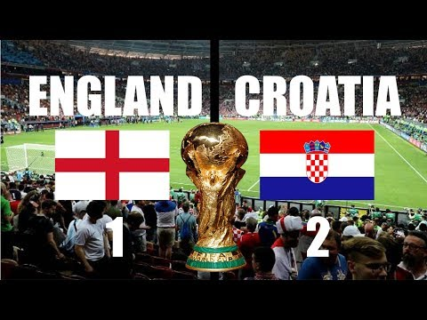 ENGLAND VS CROATIA HIGHLIGHTS LIVE WORLD CUP 2018