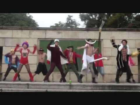 【麦わら海賊団の本気ダンス】ver.マリンフォード頂上決戦