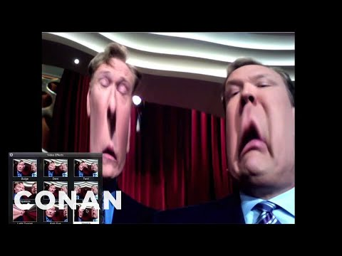 Conan - Webcam Fun With Andy