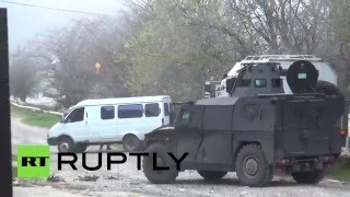 Силовики нейтрализовали троих боевиков в Махачкале