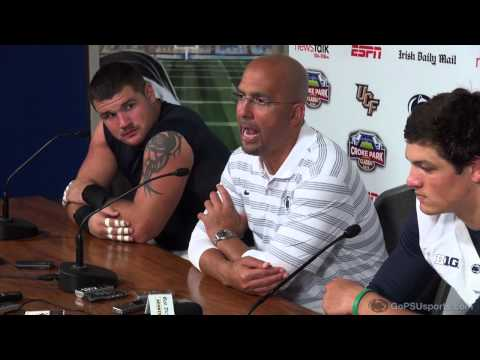 Conference - Hear from head coach James Franklin, Christian Hackenberg and Anthony Zettel following the win over UCF in Ireland.