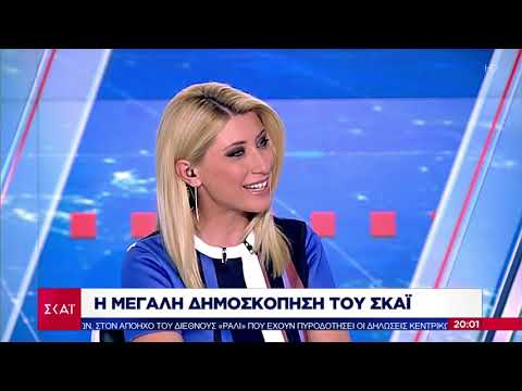 Video - Δημοσκόπηση: Στο 8,5% η διαφορά ΝΔ - ΣΥΡΙΖΑ για τις εθνικές εκλογές
