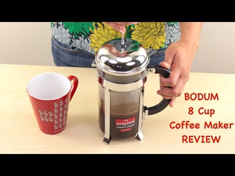 Bodum Chambord 8 Cup French Press Coffee Maker Review