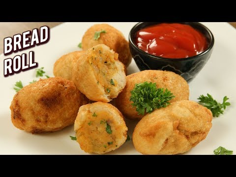 Bread Roll Recipe – Potato Stuffed Bread Rolls – Quick & Easy Snack Recipe – Varun