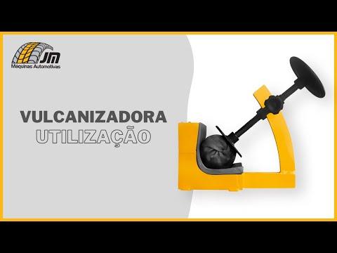 Vulcanizadora - Utilização