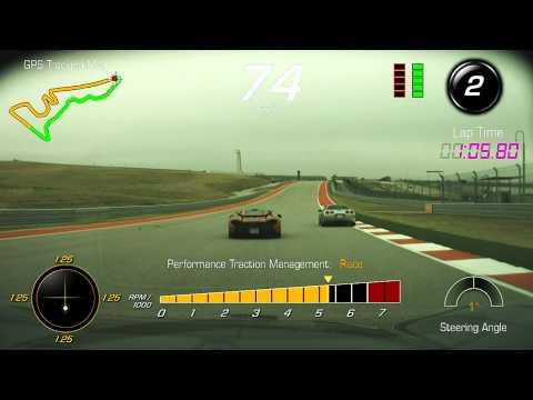McLaren P1 vs Corvette Z06