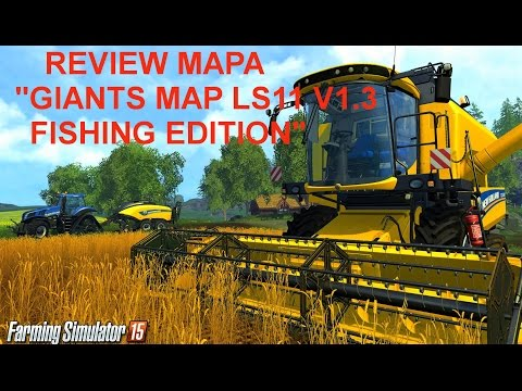 Giants MAP LS11 v1.3 Fishing Edition