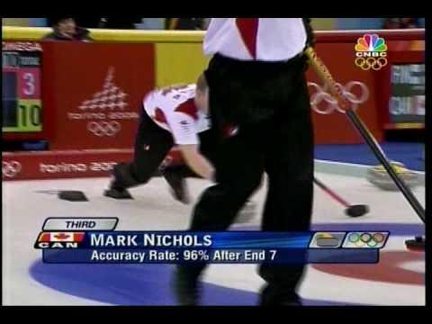 「神業的なカーリングのショット(Amazing Curling Shot!!)」のイメージ