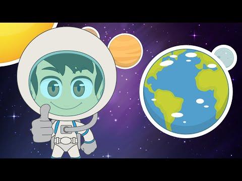 Learn Planet Names in Arabic for Kids - تعلم اسماء الكواكب باللغة العربية للأطفال