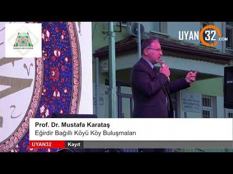 Profosör Mustafa KARATAŞ Hocamızın Bağıllı köyüne ve halkına gelmesi