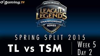 LCS NA Spring 2015 - W5D2 - TL vs TSM