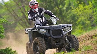 7. TEST RIDE: 2015 Polaris Sportsman ETX