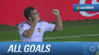All goals Valencia CF (3-0) Málaga CF - HD