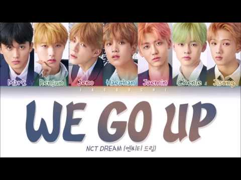 NCT DREAM (엔시티드림) - WE GO UP (Color Coded Lyrics Eng/Rom/Han/가사)