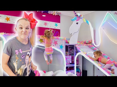 DESTROYING JOJO SIWA'S NEW ROOM She Got MAD