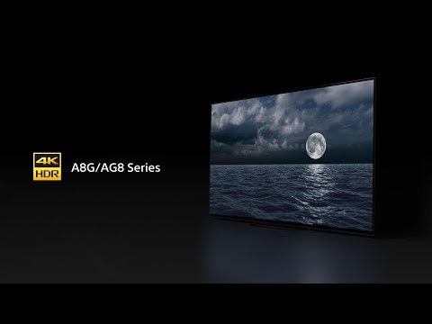 Sony - BRAVIA - A8G/AG8 Series - 4K HDR OLED