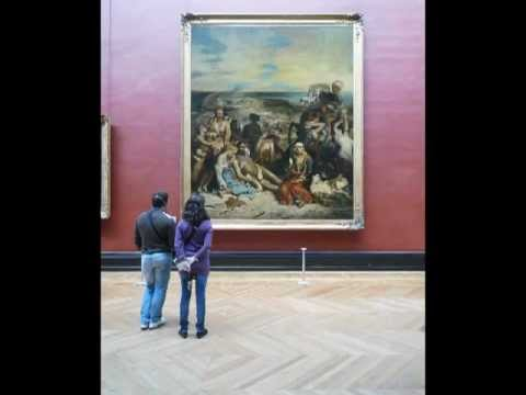 Delacroix, Scene of the Massacre at Chios (video) | Khan ...