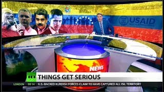 Venezuela hits back at US; raids Guaido staffer
