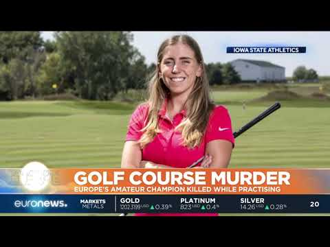 Europe's amateur golf champion killed in Iowa