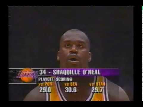 1998 WCF Jazz@Lakers Game 4