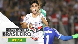 Os gols de São Paulo 2 x 0 Palmeiras, pela terceira rodada do Campeonato Brasileiro Esporte Interativo nas Redes Sociais: Portal: http://esporteinterativo.co...