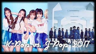 J-Pop vs. K-Pop | November 2017
