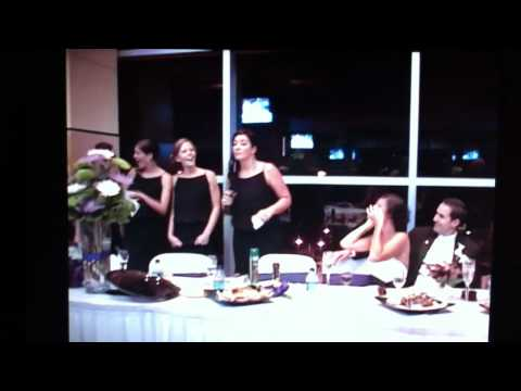 The absolute BEST Maid of Honor Toast EVER