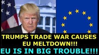 Video TRUMP'S TRADE WAR CAUSES EU MELTDOWN - EU IS IN BIG TROUBLE -  EARL OF DARTMOUTH & FARAGE DEFEND US MP3, 3GP, MP4, WEBM, AVI, FLV Juni 2018