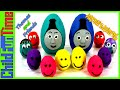 Thomas and Friends Interactive Taing Play-Doh Surprise Eggs Opening