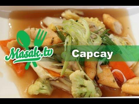 Capcay   Resep #027