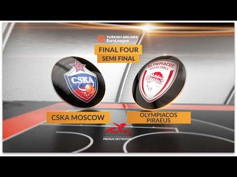 Highlights, Final Four, Semifinal: CSKA Moscow-Olympiacos Piraeus
