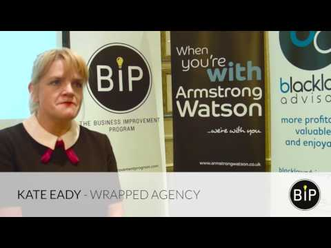 Alec Blacklaw, The BIP and Kate Eady, Wrapped Agency Ltd.