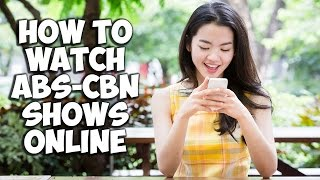 Video Watch ABS-CBN Shows Online - iWant TV App (2017) MP3, 3GP, MP4, WEBM, AVI, FLV Juli 2018