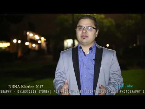 (NRNA Australia Election 2017| Election poll | Hemraj...- 2 mins, 35 secs.)