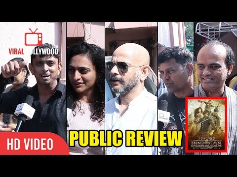 Amitabh Bachchan Aamir Khan Par Bhaari The | Thugs Of Hindostan PUBLIC REVIEW