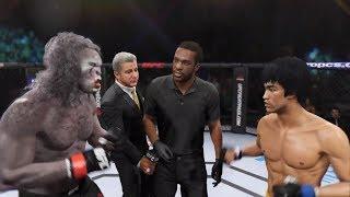 Bruce Lee vs. Werewolf (EA Sports UFC 2) - Rematch (CPU vs. CPU)