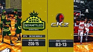 Full Game! cKz vs #9 SoRattled x NBA 2K17 cKz ProAM