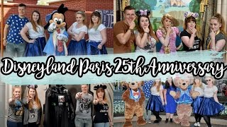 ▶▶ Disneyland Paris 25th Anniversary  April 2017 I apologise in advance for how over excited we all were. ENJOY!Did you catch last week? - An Annoying Wife, an accident & a complete extension!  - https://youtu.be/bl6XAc6YoAcCheck out our #DLP25Stars Video here → https://www.youtube.com/watch?v=_d3ziSHjWZ0Don't forget to like this video and subscribe too - http://bit.ly/BunnandGames 😁- - - - - - - - - - - - - - - - - - - - - - - - - - - - - - - - - - - - - - - - - - - - - - - - - - - - - - - - - 📹 P R E V I O U S  D I S N E Y  V L O G: https://youtu.be/YMkxncgxrmg📷 P R E V I O U S  V  L O G: https://youtu.be/bl6XAc6YoAc❗️S U B S C R I B E ❗️to stay in the loop - http://bit.ly/BunnandGames👫 P E O P L EMel - https://twitter.com/DLPMel // https://www.youtube.com/channel/UCKh_3rxXKyNhu7rOZQ53oXASamii - https://twitter.com/Saammannthha // https://www.instagram.com/missbsboutique_/Mitchell - https://twitter.com/MitchellDisney // https://www.youtube.com/channel/UCmrza3aodZdxfKDaaTejNqA/videosEleanor - https://twitter.com/EleanorAbbey93 // https://www.youtube.com/channel/UCW3c34T4MJWkAl8uX872tOQ/videosSeanyB - https://twitter.com/seanyblive🇱🇷 America Road Trip - http://bit.ly/bunnandgames_AMERICA❌ Other places to find us! ❌T W I T T E R Our Channel - http://twitter.com/bunnandgamesHelen -  http://twitter.com/xxhrbChris -  http://twitter.com/northerncrumbleB L O G G I N GHelen - http://www.hrbx.co.ukChris - http://www.northerncrumble.co.ukI N S T A G R A MHelen - https://www.instagram.com/xhrb/Chris - https://www.instagram.com/northerncrubleL E T T E R S  &  S T U F F SBunn and GamesPO Box B020435 Victoria RoadDarlingtonCo DurhamDL1 5SFM U S I CMusic from Epidemic Sound - http://www.epidemicsound.com