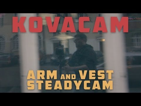 Xseries Kovacam x4 - four spring Dual Arm and Vest Steadycam for YOUR Stabilizer! REVIEW