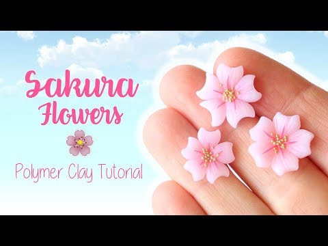 meravigliosi fiorellini realizzati in fimo