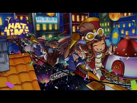 A Hat in Time: The Big Parade With Broken Clock Badge