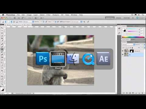 Photoshop and AE: Animating with the Puppet Tool