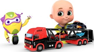 Video Kids Toys - Car Loader Truck | Surprise Eggs Toys from Jugnu kids MP3, 3GP, MP4, WEBM, AVI, FLV November 2017