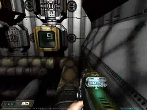 Let's Play Doom 3 58: Movement Puzzle Fail