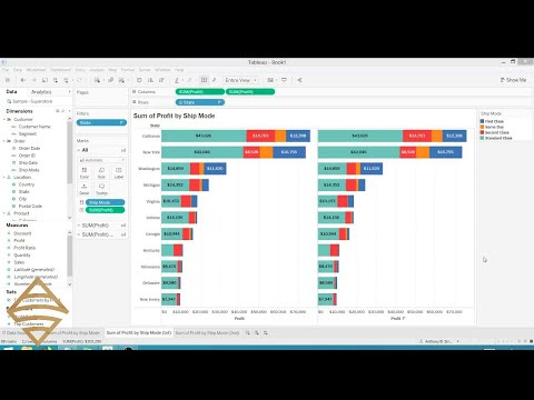 Add Totals To Stacked Bar Charts In Tableau Smoak Signals Data