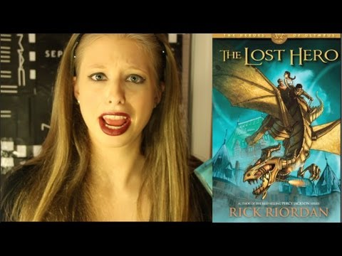 THE LOST HERO BY RICK RIORDAN: booktalk with XTINEMAY